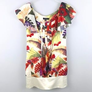 Ted Baker Floral Pleated Blouson Top 2